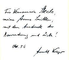 Das Haus der Versöhnung : Roman. Umschlag von Werner Rebhuhn.: Krieger, Arnold: