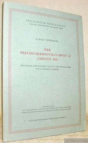 """Der Pseudo-Hieronymus-Brief IX """"Cogitis me"""". Ein erster marianischer Traktat des ..."""