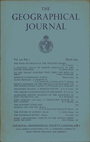 Geographical Journal. March 1964. Volume 130. PART 1