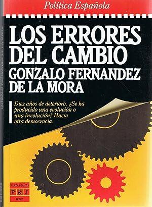 LOS ERRORES DEL CAMBIO: La Mora. Gonzalo