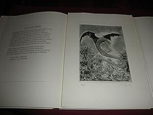 La mitologia asturiana. Textos inspirados en la tradicion popular. 11 grabados al aguafuerte y ...