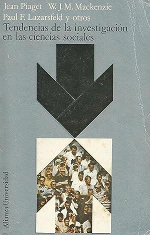 Tendencias de la investigación en las ciencias: Jean Piaget y
