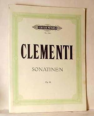 Sonatinen Fur Pianoforte Solo Op. 36: Clementi, M.