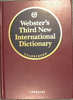 Seller image for Webster's Third New International Dictionary of the English Language Unabridged for sale by Antica Libreria Srl