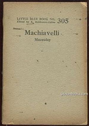 MACHIAVELLI: Macaulay, Lord