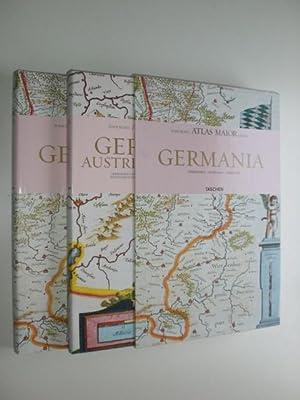 Atlas Maior of 1665. Germania. Germania, Austria & Helvetia. 2 Bände. Text in Deutsch Englisch ...