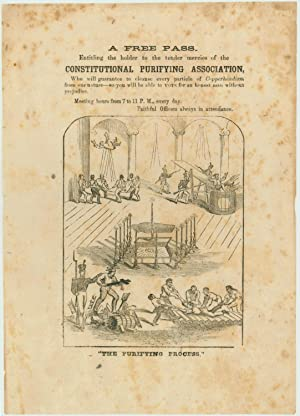 """Free Pass. Constitutional Purifying Association"""