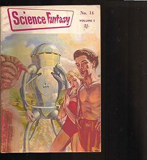 SCIENCE FANTASY magazine. VOLUME 5. NUMBER 14. JUNE 1955. BRITISH EDITION.
