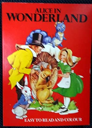 Alice in Wonderland Easy to Read and: Carroll, Lewis. Color