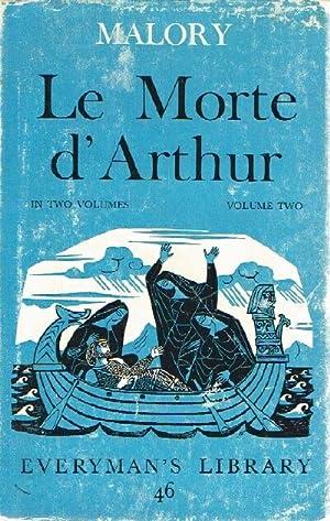 Le Morte D'Arthur (Volume 2, only, of: Malory, Sir Thomas