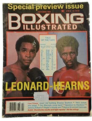 Boxing Illustrated Volume 23 No10 October 1981: SPORTS)