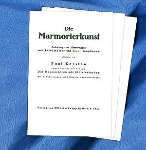 Die Marmorierkunst - Rohbögen: Kersten, Paul