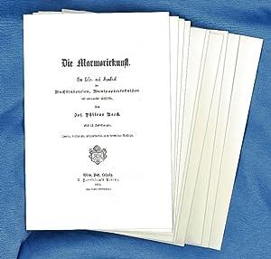 Die Marmorirkunst(sic); ein Lehr- und Handbuch: Boeck, Phileas Josef