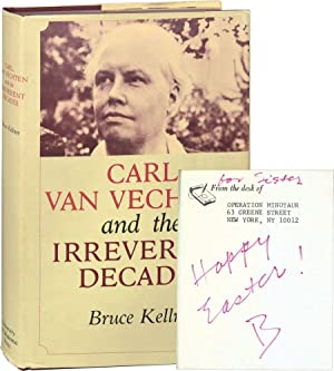 Carl Van Vechten and the Irreverent Decades (Signed First Edition, actress Ruth Ford's copy)
