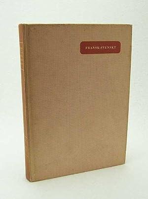 Bild des Verkäufers für Fransk-svenskt lexikon / Holger Petersen Dyggve, Nils Sund zum Verkauf von Versandantiquariat Buchegger