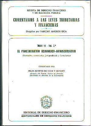 COMENTARIOS A LAS LEYES TRIBUTARIAS Y FINANCIERAS.: BENITEZ DE LUGO