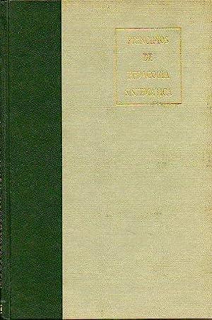 PRINCIPIOS DE PEDAGOGÍA SISTEMÁTICA. Ed. Corregida y: García Hoz, Victor.