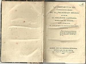 LA LIBERTAD Y LA LEY, O FUNDAMENTOS: BERNABEU, Antonio.