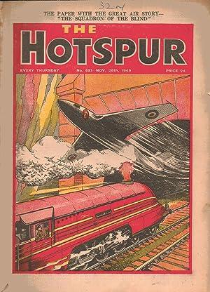 The HOTSPUR Comic. No. 681. November 26th 1949