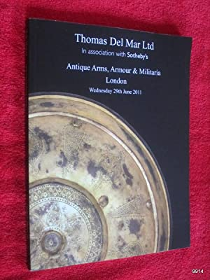 Antique Arms, Armour & Militaria. 29 June: Thomas Del Mar