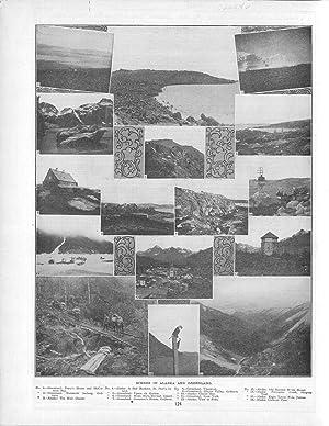 "PRINT: ""Scenes in Alaska and Greenland"".from Cram's: Cram, George F"