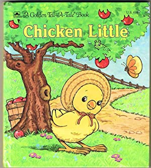CHICKEN LITTLE a Golden Tell-A-Tale Book