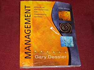 Management. Principles and Practices for Tomorrows Leaders.: Gary Dessler