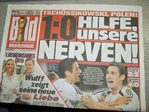 Bild des Verkäufers für Miroslav Klose und Oliver Neuville (Titelbild), Deutschland - Polen 1:0 . Bild Donnerstag 15. Juni 2006, unabhängig unparteilich, zum Verkauf von Agroplant GmbH