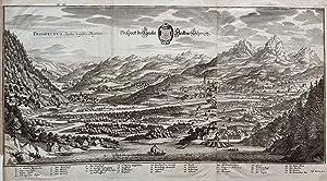 Prospect des Haubt Fleckens Schwytz: MERIAN, Matthaus