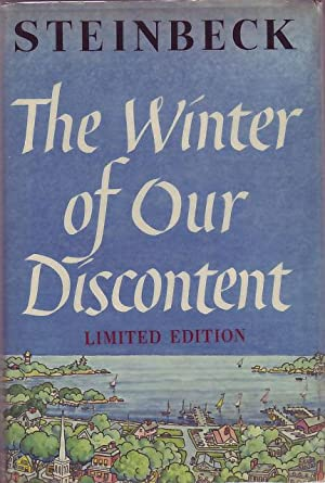 The Winter of Our Discontent.: Steinbeck, John.