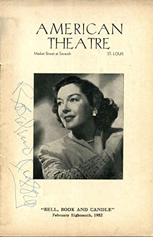 "Signed American Theatre Stagebill (Program); ""Bell, Book: Russell, Rosalind (1911-1976);"
