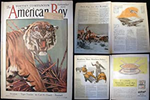 The Youth's Companion Combined With American Boy September 1930: Americana - Periodical - The ...