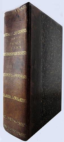 Corpus poetarum latinorum. Uno volumine absolutum. Cum: Poetae latini -