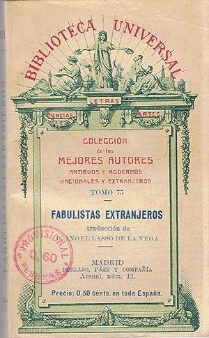 FABULISTAS EXTRANJEROS.: AA.VV