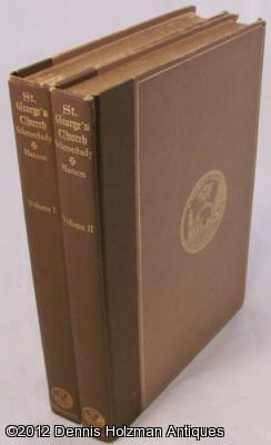A History of St. George's Church in the City of Schenectady In Two Volumes