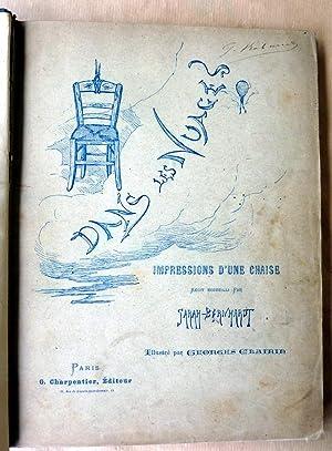 Dans les Nuages; impressions d'une chaise récit recueilli par Sarah Bernhardt.: Sarah-Bernhardt.