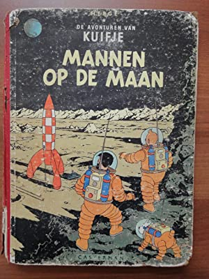 Tintin Book in Dutch: Mannen Op de: Herge