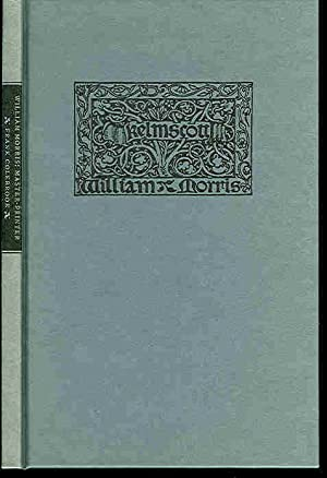 William Morris: Master Printer. A Lecture Given: Colebrook, Frank &