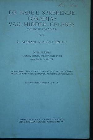 De Bare'e Sprekende Toradjas van Midden-Celebes, (de: Adriani, N. and