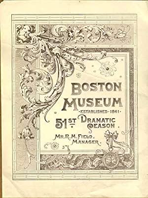 Boston Museum, 51st Dramatic Season: Ye Earlie Trouble., a Romaunce (sic) of '76, The.