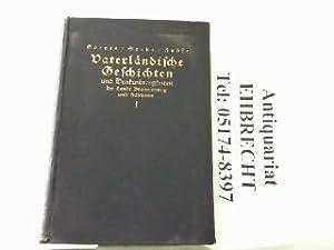 Vaterländische Geschichten und Denkwürdigkeiten der Lande Braunschweig und Hannover. Hier nur Band ...