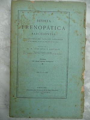 Revista Frenopática Barcelonesa. Eco Científico Del Manicomio: GINÉ Y PARTAGÁS,