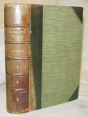 Lavengro The Scholar, The Gypsy, The Priest: Borrow, George
