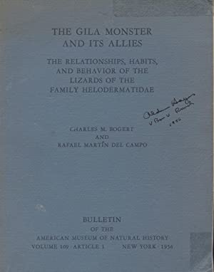The Gila Monster and Its Allies -: Bogert, Charles M.,