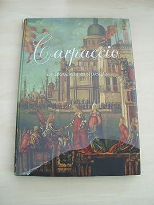 Carpaccio. La leggenda di S. Orsola.: Ursula Sancta. - Valcanover, F.: