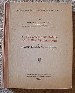 El Poblado Cristiano de la Isla de: VELO, FRANCISCO J.