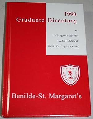 1998 Graduate Directory for St. Margaret' Academy,: Benilde-St. Margaret's