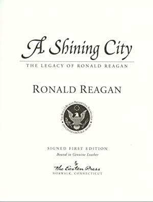A Shining City: Reagan, Ronald