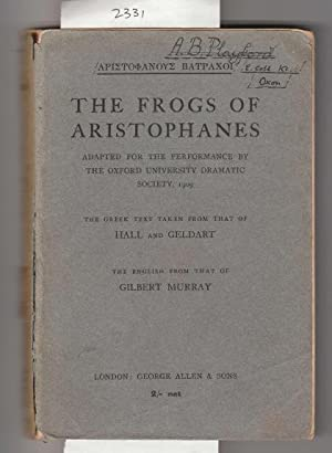 The Frogs of Aristophanes.