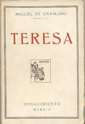 Teresa. Rimas de un poeta desconocido.: UNAMUNO, Miguel de.